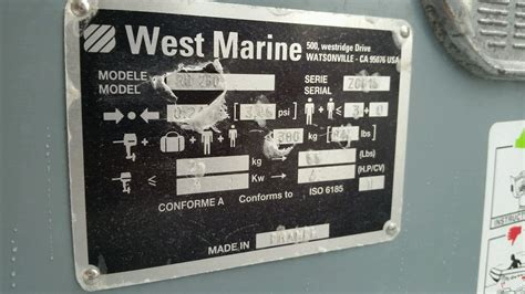 boat registration numbers west marine zodiac west marine ru 260 2005 for sale for 1 300 boats