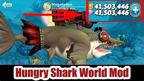 hungry shark apk hungry shark world mod apk v2 5 0 unlimited money mr black hat