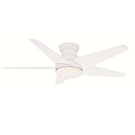 casablanca isotope ceiling fan casablanca low profile collection isotope 52 quot ceiling fan searchlighting residential and