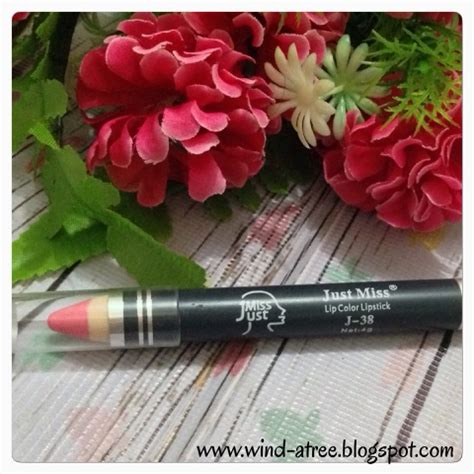 Just Miss Pencil Lipstick 3 Pcs review just miss lip pencil and lace lipgloss the