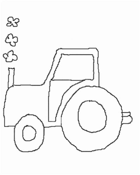easy tractor coloring pages tractor pencil coloring coloring pages