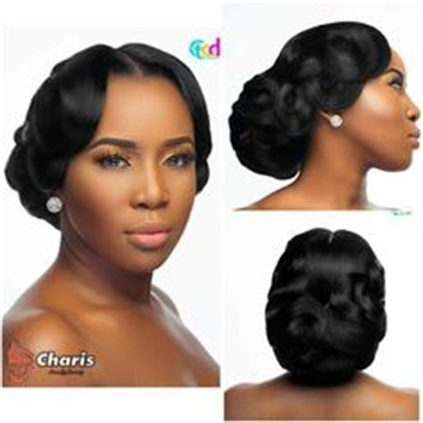 bonding hairstyles for brides bridal hair style vintage updo clean updo african