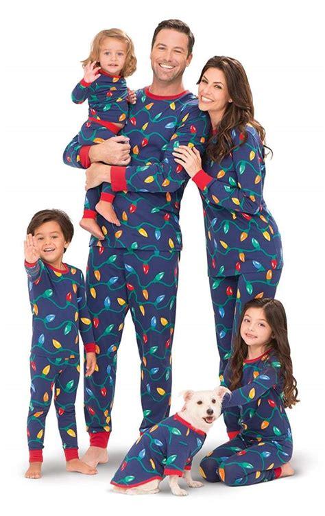 christmas family pajamas sets