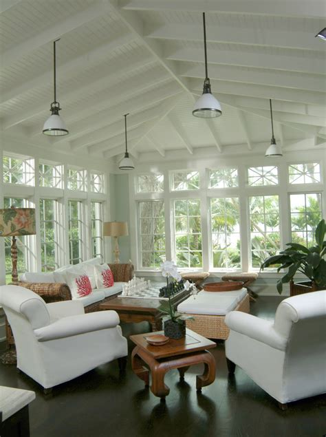 Sunroom wall color ideas sunroom contemporary with white