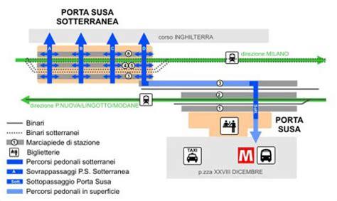 stazione porta susa orari rivoluzione ferroviaria a porta susa dal 27 settembre