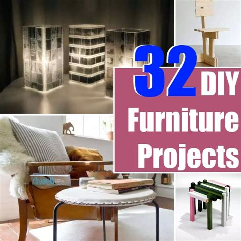 32 diy furniture projects diy home things