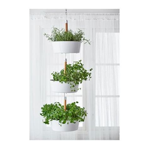 hanging window herb garden hanging planters ikea and planters on pinterest