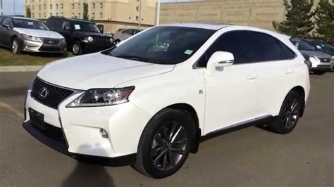 white lexus 2013 lexus certified pre owned white 2013 rx 350 awd f sport