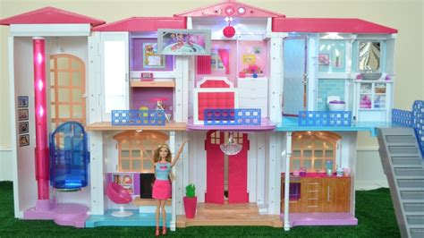 videos de casas de barbie barbie leticia apresenta hello dreamhouse nova casa
