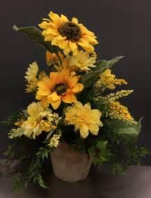 sunflower arrangements ideas 1000 ideas about sunflower arrangements on