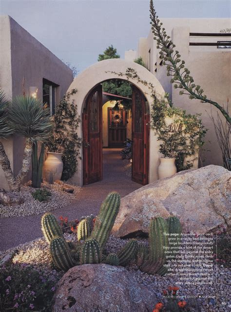 entry  courtyard  phoenix home garden
