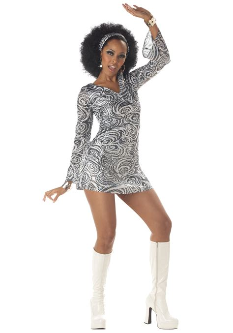 Disco Dress disco costume dress costumes