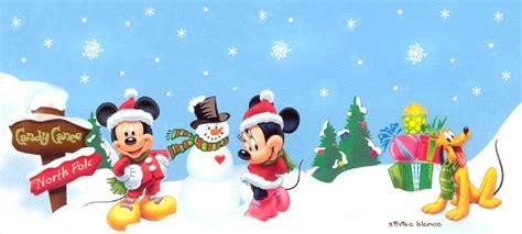 imagenes navidad mickey mouse imagenes de mickey mouse y sus amigos en navidad imagui