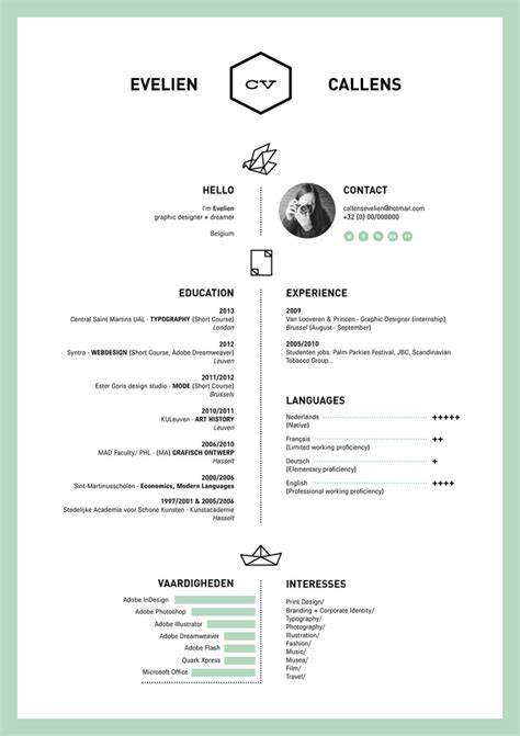 design cv form 70 well designed resume exles for your inspiration