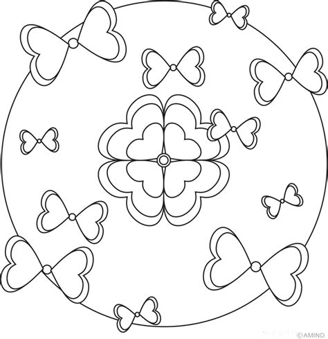 free coloring pages of mandala for relaxation