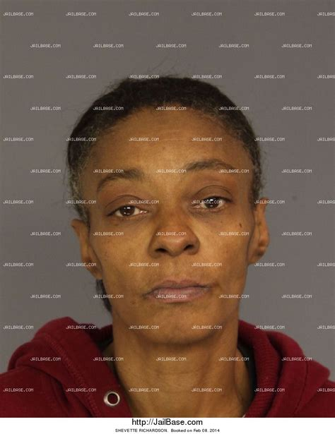 Richardson Arrest Records Shevette Richardson Arrest History