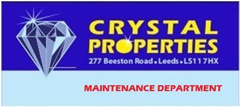 crystal properties maintenance letting agents leeds crystal properties