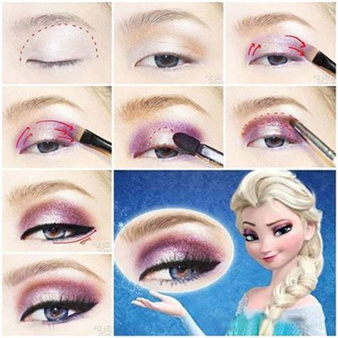 disney makeup tutorial frozen queen elsa makeup looks disney princess beauty how to