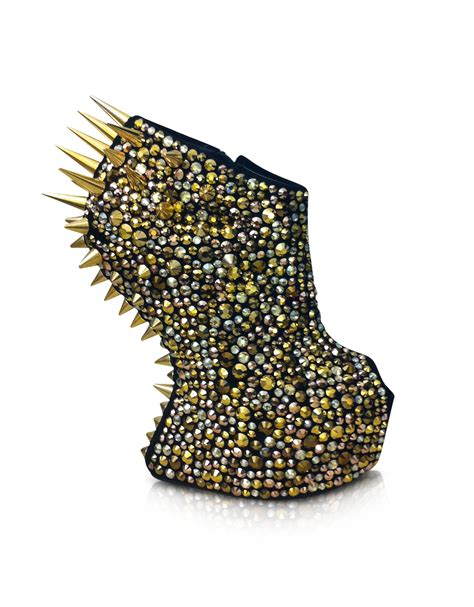 Sneaker Wedges Gaga giuseppe zanotti gaga spikes and suede wedge bootie in