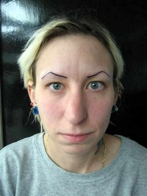 eyebrow tattoo fail the 24 funniest fails you ve seen 9 made my