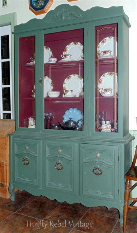 kitchen china cabinet kitchen china cabinet makeover thrifty rebel vintage