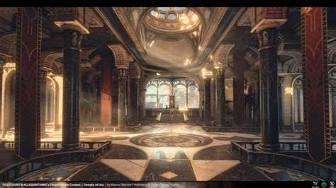 wallpaper engine library temple of utu unreal engine 4 environment by