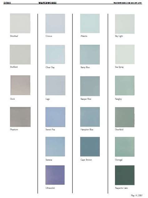ceramic tile colors for bathroom 4 188 quot ceramic field tile in 70 colors from waterworks
