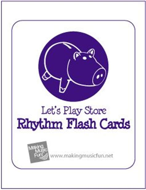 printable rhythm flash cards 406 best images about music printables on pinterest