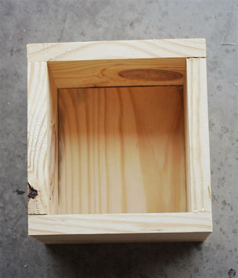 diy wood box plans free pdf download