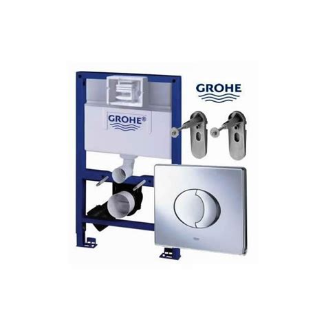 grohe rapid sl 3 in grohe rapid sl 3 in 1 wc frame pack 0 82m uk bathrooms