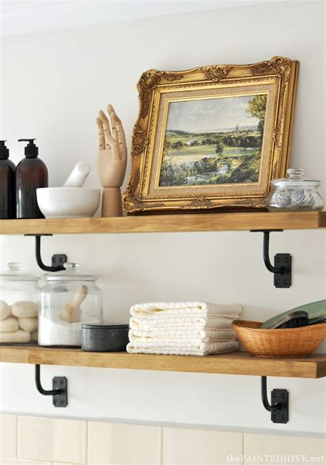 1973 Best Images About Open Shelving On Pinterest Open Laundry Room Wall Shelves