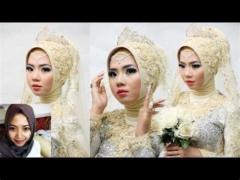 tutorial jilbab pengantin menutup dada tutorial jilbab untuk pengantin tutorial hijab pesta