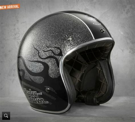 Helm Retro Coklat Umzd harley davidson shows two new black label helmets autoevolution