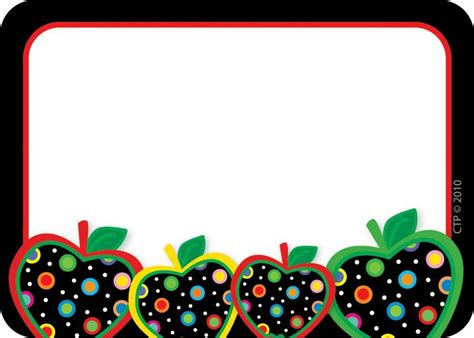abc card template editable dots on black apples name tags name tags tags and dots