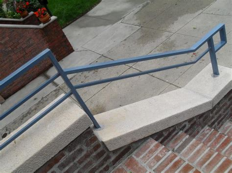 Tubular Handrails fabricator ny pipe tubular steel railing stair railings