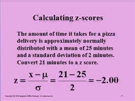 calculator z score calculating z scores youtube