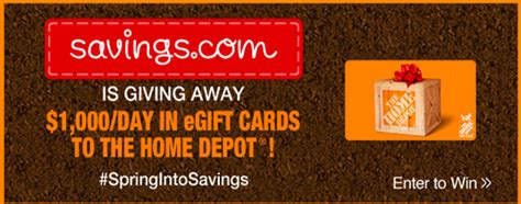 Home Depot Gift Cards At Cvs - home depot gift card giveaway