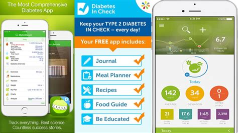 top 5 diabetes apps for iphone