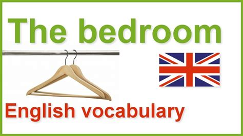 vocabulary bedroom english english words in the bedroom english vocabulary youtube