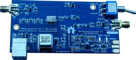 Sdr Up Converter Hf upconverter opendous mf hf converter for receivers open hardware designs and related works