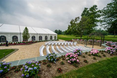 outdoor country club york pa wedding ceremony space west country club