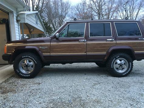 jeep wagoneer for sale 1989 jeep grand wagoneer v6 auto for sale in columbus indiana