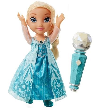 buy frozen dolls elsa disney frozen sing a with elsa doll ex
