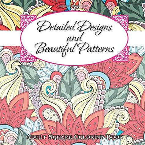 sacred mandala beautiful designs and patterns coloring books for adults detailed designs beautiful patterns coloring book