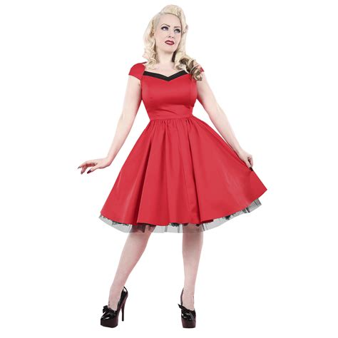 swing costumes rkh51 hearts roses flared pin up party rockabilly dress