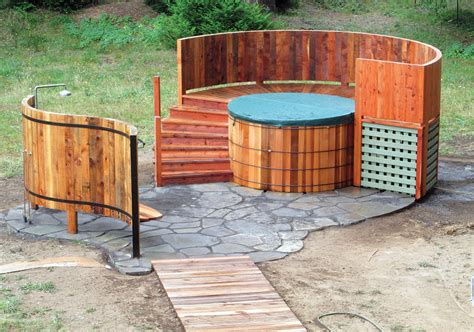 wood hot tub the enduring appeal of wooden hot tubs aqua magazine