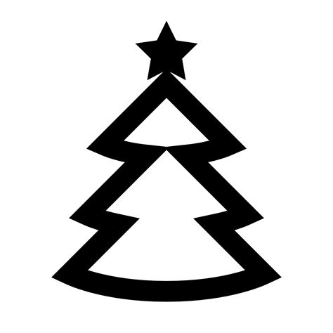 christmas tree text symbol web app seo category icon title