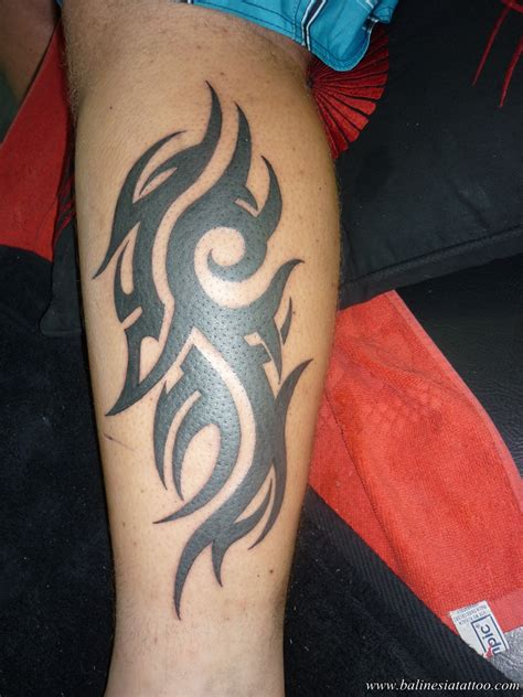 photo tattoo tribal bali