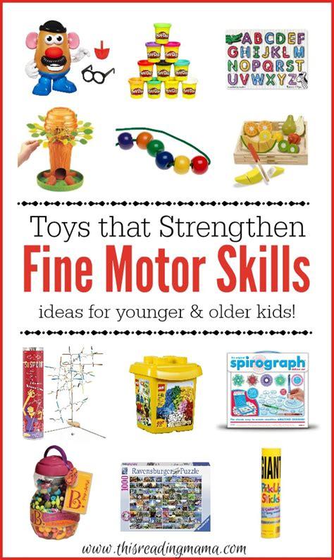 motor skill toys toys that strengthen motor skills