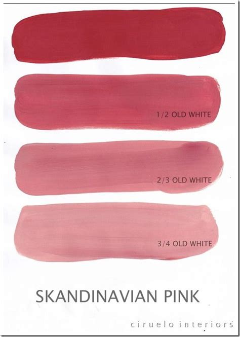 scandinavian colours ascp scandinavian pink paint colors
